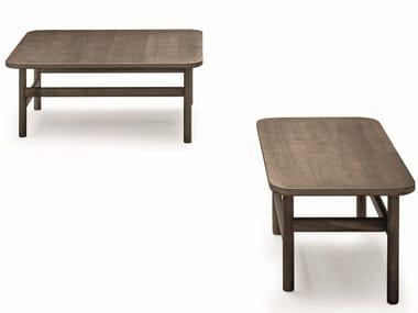 Rectangular oak coffee table HOOD | Rectangular coffee table