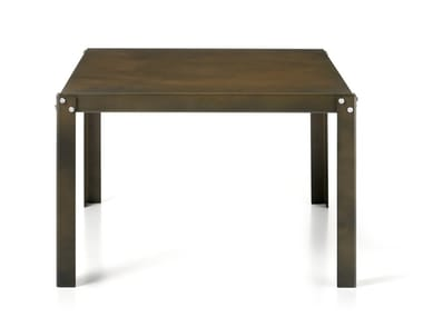 Rectangular steel coffee table HOPE/B