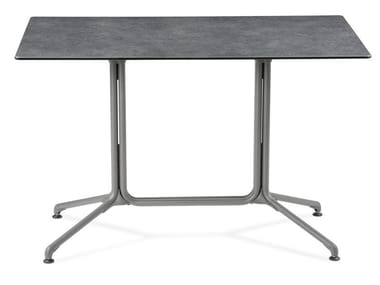 Rectangular drop-leaf in/out table HORIZON | Rectangular table