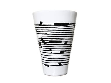 Ceramic vase HORIZONTAL III