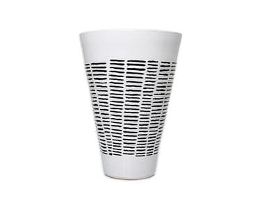 Ceramic vase HORIZONTAL IV