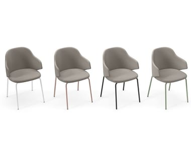 Upholstered fabric chair HOST   Chair