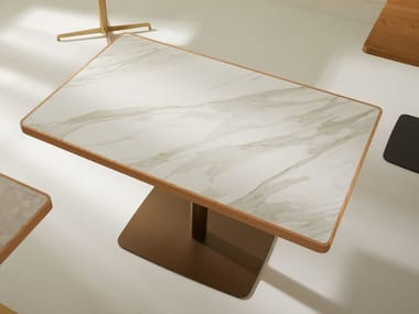 Rectangular marble table HPW | Marble table