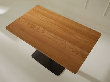 Rectangular wooden table HPW | Wooden table