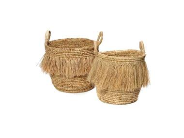 Raffia basket HULA