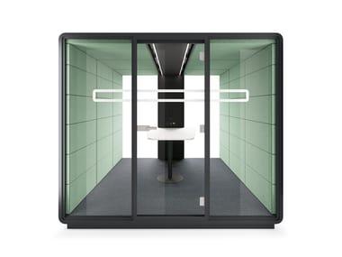Cabine de escritório acústica hushMeet.L