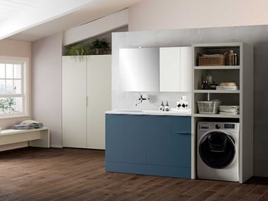Sectional laundry room cabinet HYD02 | Laundry room cabinet