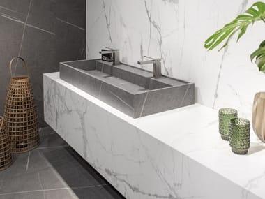 Porcelain washbasin HYDRA 117x43