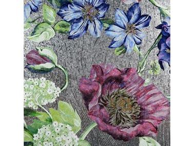 Glass mosaic HYDRANGEA