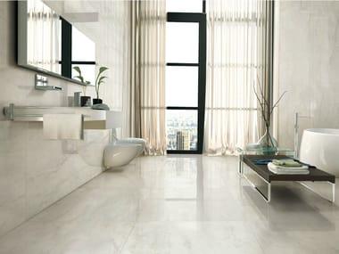 Porcelain stoneware wall/floor tiles with marble effect I MARMI BIANCO BERNINI