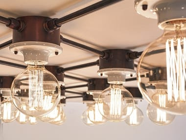 Lampada da parete / lampada da soffitto SISTEMA I ROMBI
