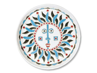 Round ceramic tray I SOLI