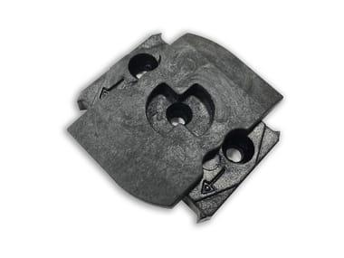 Sistema modular para suelos sobreeelevados iDecking iFly decking clip