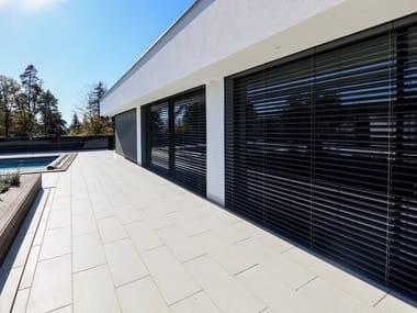Aluminium roller shutter iFRAME Sunshading