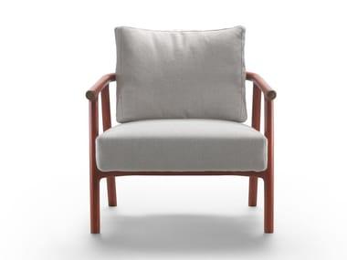 Armchair with armrests ICARO   Armchair