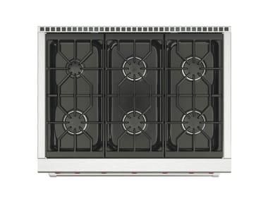 Cucina a libera installazione professionale in acciaio inox ICBDF364/366 | Cucina a libera installazione