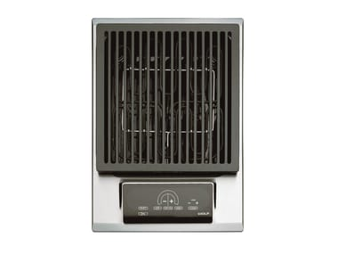 Piano cottura da incasso elettrico in acciaio inox ICBIG15/S DOMINO | Piano cottura con grill