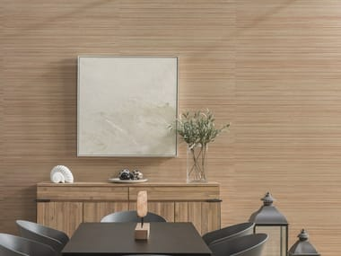 Ceramic wall tiles with wood effect ICE