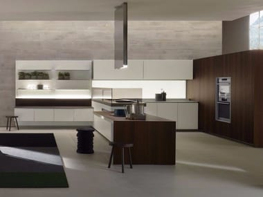 Corian® kitchen with peninsula ICON | Corian® kitchen