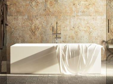 Vasca da bagno centro stanza idromassaggio in materiale composito ICON