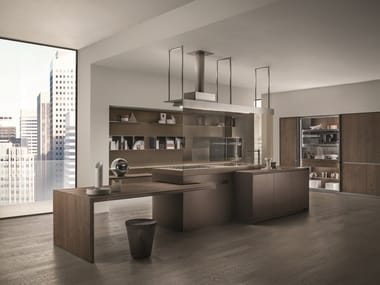 Kitchen with island ICONCOLOR