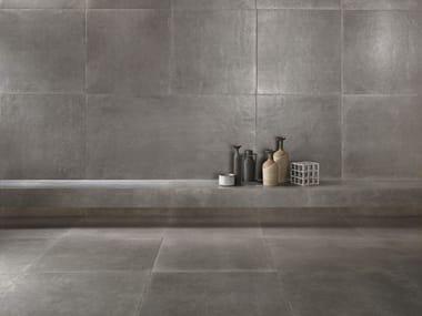 Porcelain stoneware wall/floor tiles with stone effect ICÔNE BLEU Gris