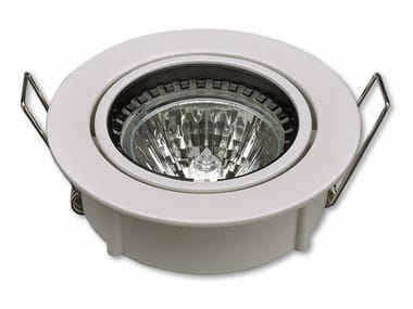 Adjustable ceiling recessed die cast aluminium spotlight ID