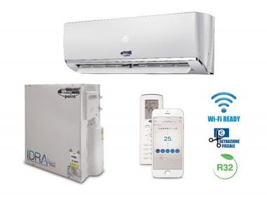 Wall mounted air conditioner without external unit IDRA NEXT MULTISPLIT