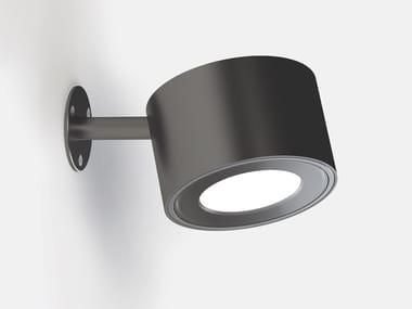 Lampada da parete per esterno a LED orientabile IFERROSI - SPOT 120