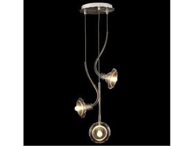 Blown glass pendant lamp IKEBANA 3