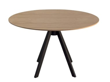 Tavolo rotondo in laminato IKEBANA   Tavolo rotondo