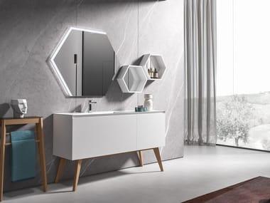 Floor-standing vanity unit IKON 07