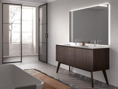 Floor-standing vanity unit IKON 08