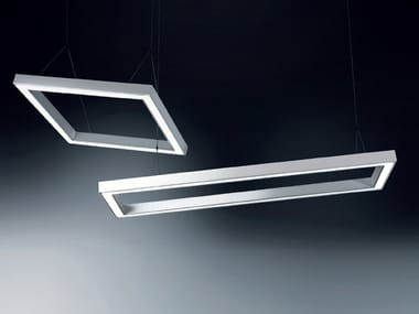 LED extruded aluminium pendant lamp IKU