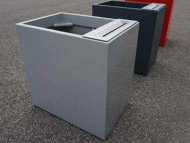 Fiber cement Flower pot / ashtray IMAGE'IN PLANTERS WITH ASHTRAY