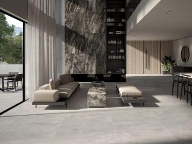 Revestimiento de pared/suelo de gres porcelánico efecto mármol IMPERIAL ARIAN