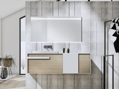 Wall-mounted vanity unit IN&OUT 7