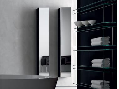 Column bathroom wall cabinet IN&OUT