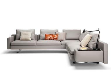6 seater corner leather sofa IN THE MOOD | Corner sofa