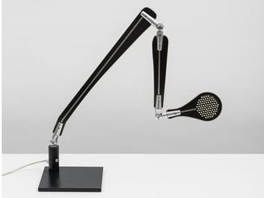 LED with swing arm aluminium desk lamp INA