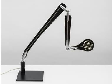 Lampada da scrivania a LED in alluminio con braccio flessibile INA