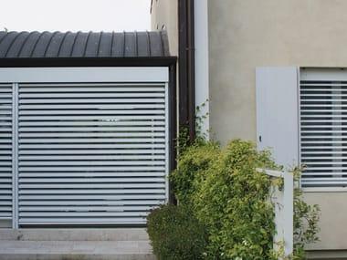 Adjustable aluminium solar shading INCOSUN SB90
