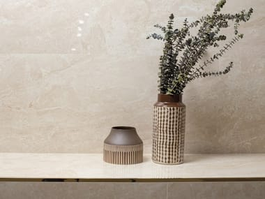 Wall/floor tiles with marble effect INDIC MARFIL