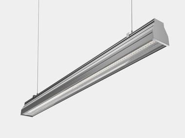 LED Anodized aluminium pendant lamp INDUSTRIA