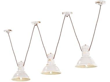 Ceramic chandelier INDUSTRIAL | Chandelier