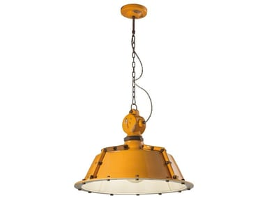 Lampada a sospensione in ceramica in stile industriale INDUSTRIAL | Lampada a sospensione in stile industriale