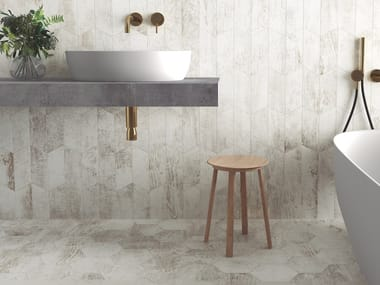 Wall/floor tiles with wood effect INDUSTRY