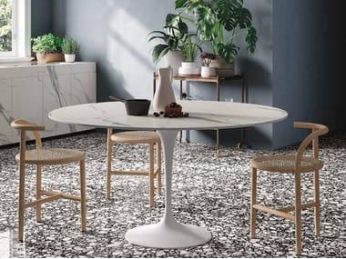 Porcelain stoneware Table Top INFINITO 2.0 STATUARIO EXTRA | Table Top