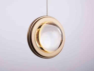Lampada a sospensione a LED in alluminio e vetro INFINITY MODERN PENDANT