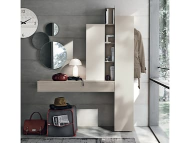 Sectional wall-mounted hallway unit INGRESSI